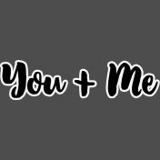 Pocket Basics 2- Pocket Titles- Layered Template- You + Me 5