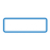 Pocket Basics 2 Label- Layered Template- Rectangle Rounded Corners Mini