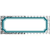 Pocket Basics 2 Label- Layered Template- Rectangle Scooped Corners Big