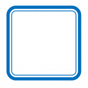 Pocket Basics 2 Label- Layered Template- Square Rounded Corners