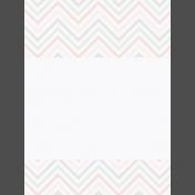 Fresh Start Journal Cards- Chevron 2- 3x4