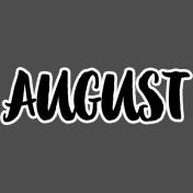 Pocket Basics 2- Pocket Titles- Layered Template- August 2