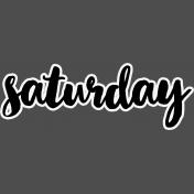 Pocket Basics 2- Pocket Titles- Layered Template- Saturday 1