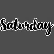Pocket Basics 2- Pocket Titles- Layered Template- Saturday 2