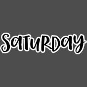 Pocket Basics 2- Pocket Titles- Layered Template- Saturday 3