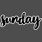 Pocket Basics 2- Pocket Titles- Layered Template- Sunday