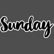 Pocket Basics 2- Pocket Titles- Layered Template- Sunday 2