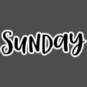 Pocket Basics 2- Pocket Titles- Layered Template- Sunday 3