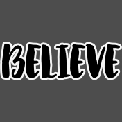 Pocket Basics 2 Pocket Title- Layered Template- Believe 2