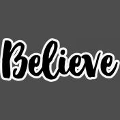 Pocket Basics 2 Pocket Title- Layered Template- Believe 3