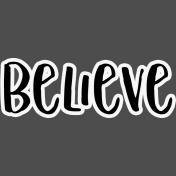 Pocket Basics 2 Pocket Title- Layered Template- Believe