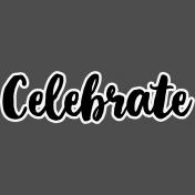 Pocket Basics 2 Pocket Title- Layered Template- Celebrate 2