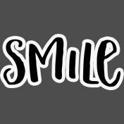 Pocket Basics 2 Pocket Title- Layered Template- Smile