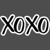 Pocket Basics 2 Pocket Title- Layered Template- XOXO