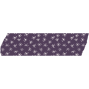 The Good Life: August Bits & Pieces- Purple Starry Washi