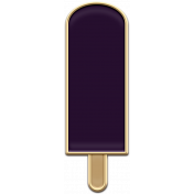 The Good Life: August- Purple Popsicle Enamel Pin