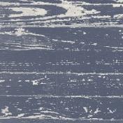 Cozy Kitchen- Navy Distressed Wood Paper