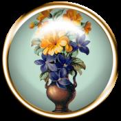 Cozy Kitchen Floral Flair