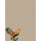 Cozy Kitchen Vintage Graphic Journal Card Chicken 2