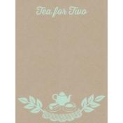 Cozy Kitchen Vintage Graphic Journal Card Tea 2