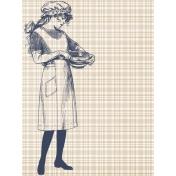 Cozy Kitchen Vintage Graphic Journal Card Filler 1
