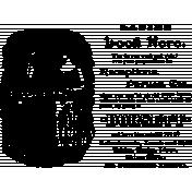 Vintage Kitchen Graphics- Reception Ad Stamp