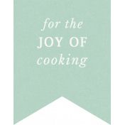 Cozy Kitchen- Joy Of Cooking Label
