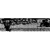 Vintage Kitchen Graphics- Biscuits Word Art Stamp