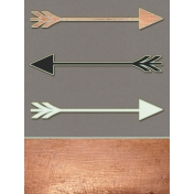 Already There- Arrows Copper Journal Card