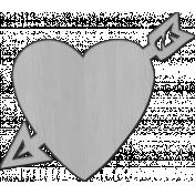 Heart 1 Veneer Template
