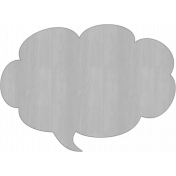 Speech Bubble Veneer Template