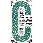 Bright Days Alpha- Scribble Sticker C