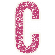 Bright Days Alpha- Scribble Sticker C2