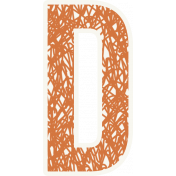 Bright Days Alpha- Scribble Sticker D