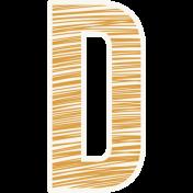 Bright Days Alpha- Scribble Sticker D2