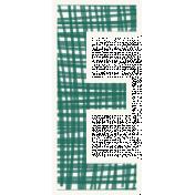 Bright Days Alpha- Scribble Sticker E2