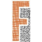 Bright Days Alpha- Scribble Sticker F2