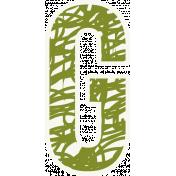Bright Days Alpha- Scribble Sticker G2