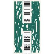 Bright Days Alpha- Scribble Sticker H