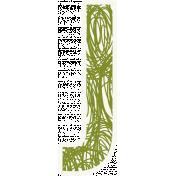 Bright Days Alpha- Scribble Sticker J