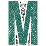 Bright Days Alpha- Scribble Sticker M