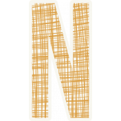 Bright Days Alpha- Scribble Sticker N2