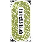 Bright Days Alpha- Scribble Sticker O2