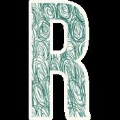 Bright Days Alpha- Scribble Sticker R