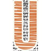 Bright Days Alpha- Scribble Sticker U2