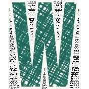 Bright Days Alpha- Scribble Sticker W