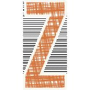 Bright Days Alpha- Scribble Sticker Z2