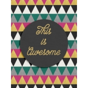 Bright Days Filler- Awesome Vertical Journal Card
