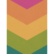 Bright Days Filler- Rainbow Chevron Vertical Journal Card