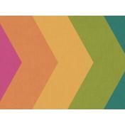 Bright Days Filler- Rainbow Chevron Horizontal Journal Card
